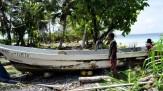 Jose's boat at Ebon atoll